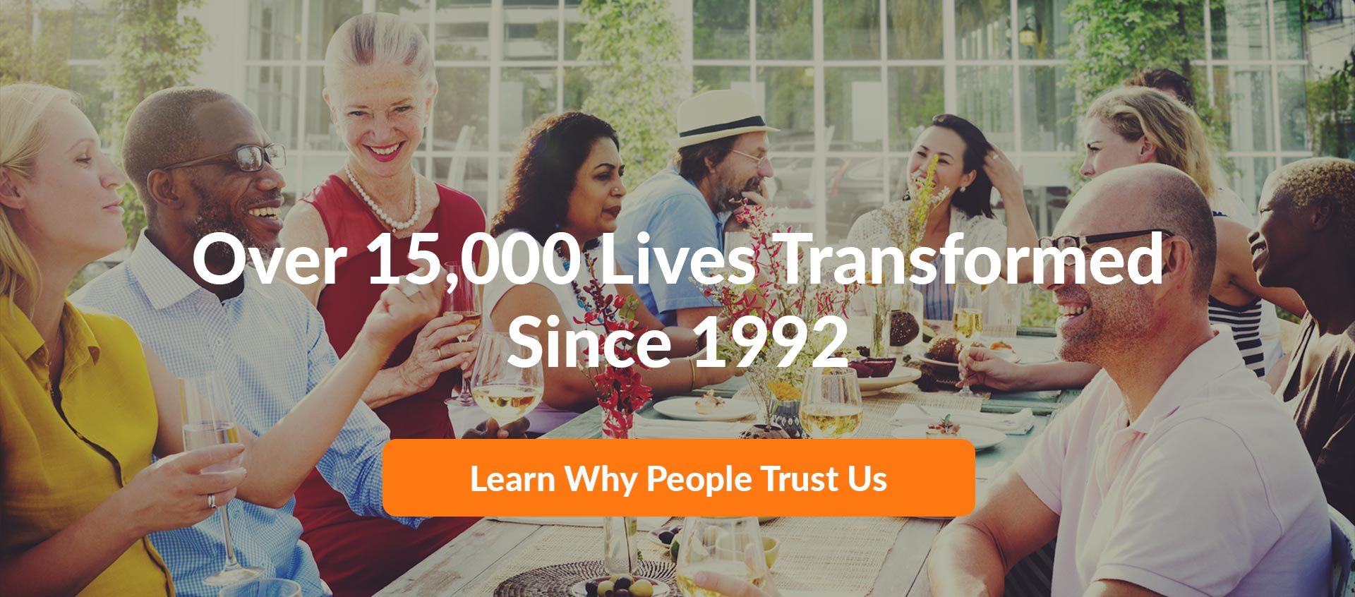 over 10000 lives transformed since 1992